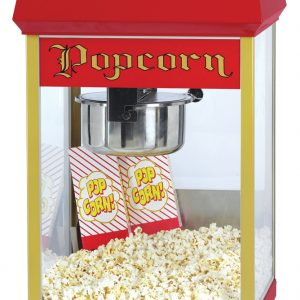 8oz Fun Pop Classic Popcorn Popper / Machine with E-Z Kleen Stainless Steel Kettle