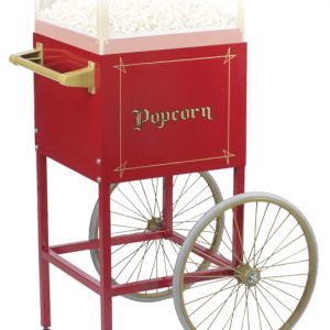 Gold Medal Red Cart for 8oz Fun Pop Popcorn Machine / Popper